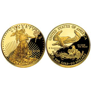 Gold American Eagle 50 Dollars