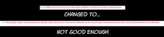 IGDA Blocklist change