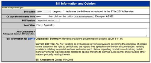 SB444 free speech anti-slapp