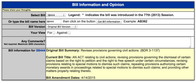 SB444 free speech anti-slapp