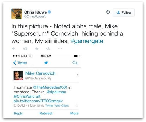 Chris Kluwe GamerGate misogyny