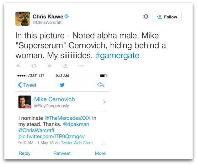 Chris Kluwe GamerGate misogyny