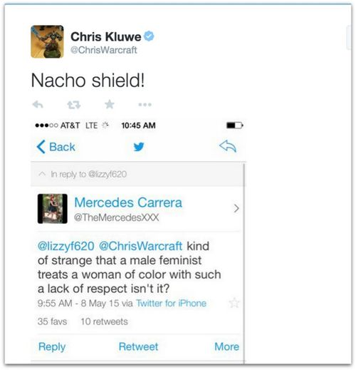 Chris Kluwe racist GamerGate