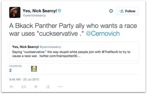 Who is a cuckservative.14 AM